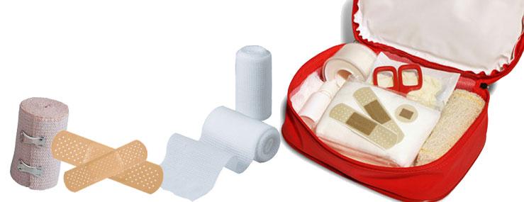 Hvad bør du have i en førstehjælpskasse?