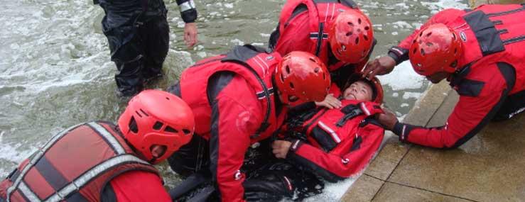 Førstehjælp ved søsport