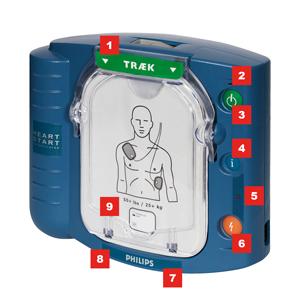 Philips HeartStart HS1 - Køb verdens mest solgte hjertestarter
