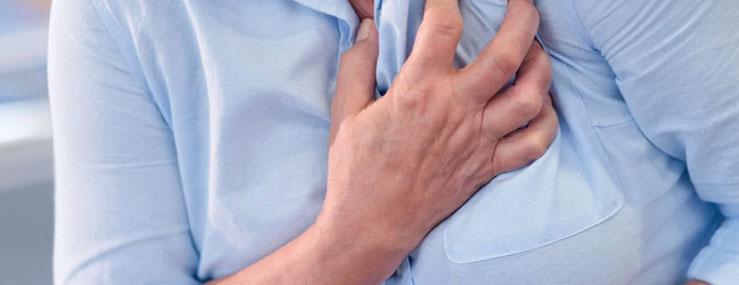 Kvinder får også blodprop i hjertet